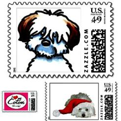 coton de tulear postage stamps