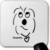coton de tulear mousepad