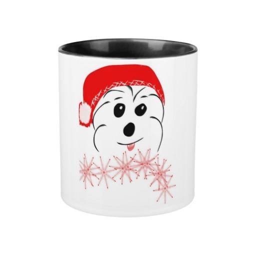 Coton de Tulear Christmas mug