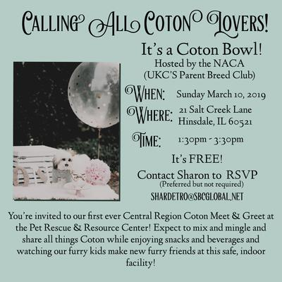 Chicago Area Coton Meetup