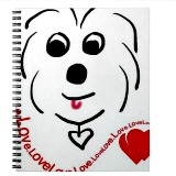 coton de tulear notebook