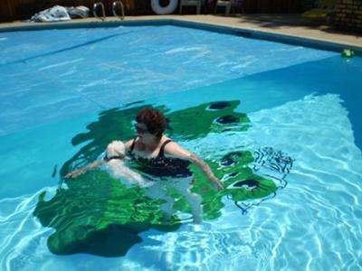 Tuffy's solo swim 2009