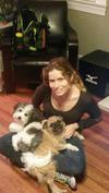 Me, Sebastien, and Millie